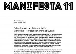 Presse Manifesta11